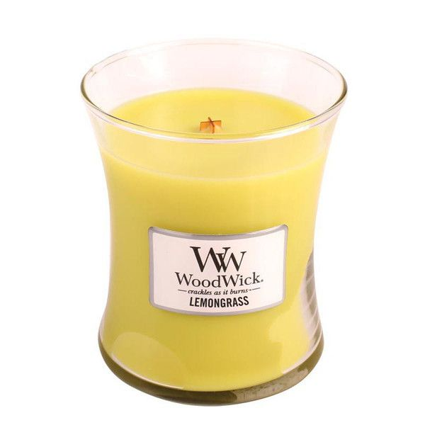 WoodWick Lemongrass Scented Candle – Just Scented Candles