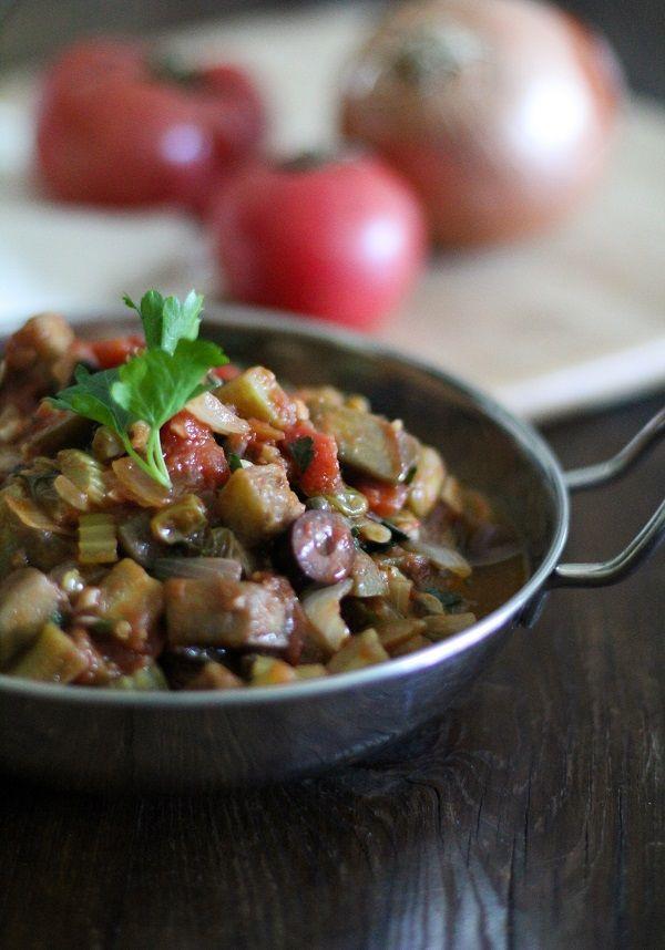 Classic Eggplant Caponata | www.theroastedroot.net