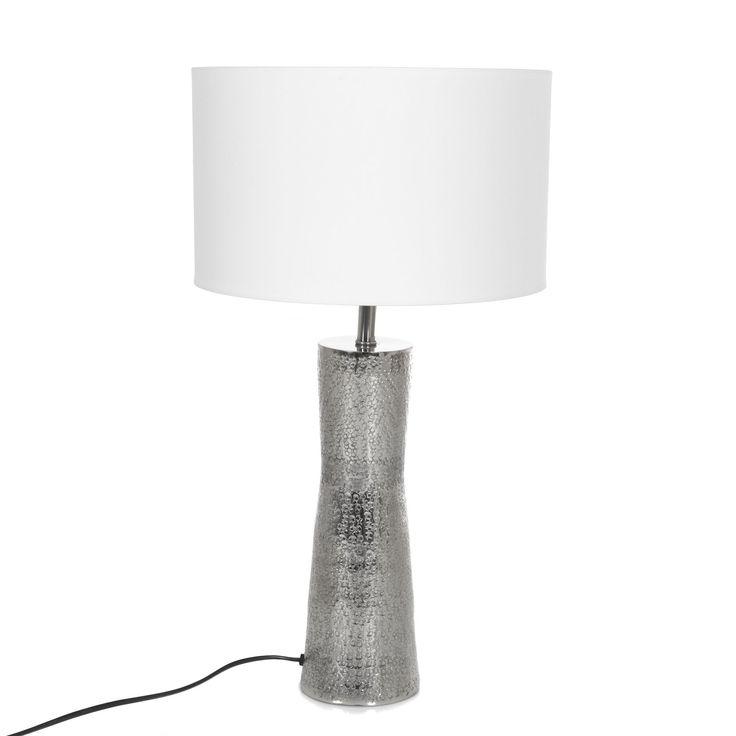 Lampe avec large pied en métal 30cm Métal - Alicia 2 Lum - Les lampes à poser - Lampes - Luminaires - Décoration d'intérieur - Alinéa