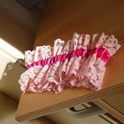 Růžovka - podvazek