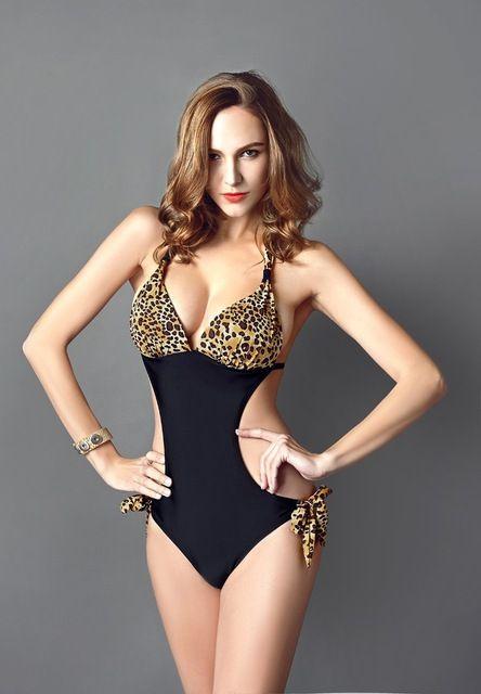 DHL Free 100pcs/lot Hot Sale 2015 plus size Sexy Leopard Women Swimwear Push Up Ladies swimsuit Women bathing suit bikinis women US $809.00 Specifics GenderWomen Item TypeBikinis Set is_customizedYes Pattern TypeLeopard Brand NameGX WaistLow Waist MaterialPolyester,Spandex,Acrylic Color StyleNatural Color Model NumberDH-00051 Coloras the photo show  Click to Buy :http://goo.gl/t9O329
