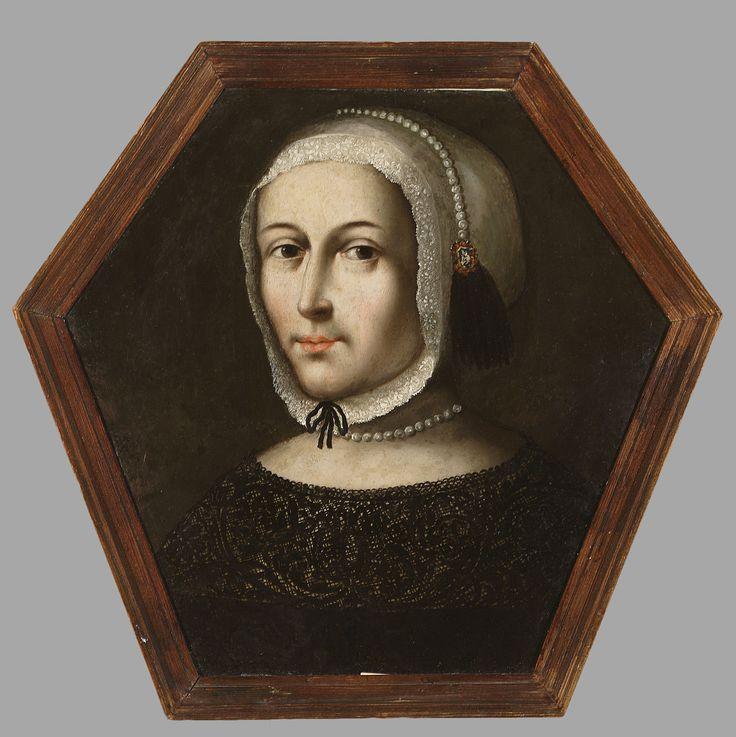 Muzeum Cyfrowe dMuseion - Portret trumienny kobiety w białym czepeczku