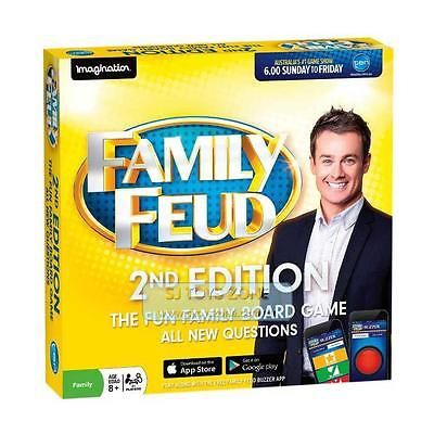 Family Feud 2 Family Board Game
