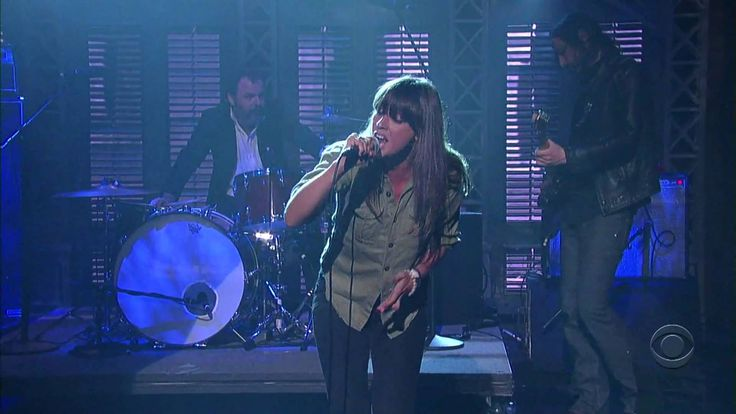 Metal Heart, Cat Power and the Dirty Delta Blues, Letterman, 2008