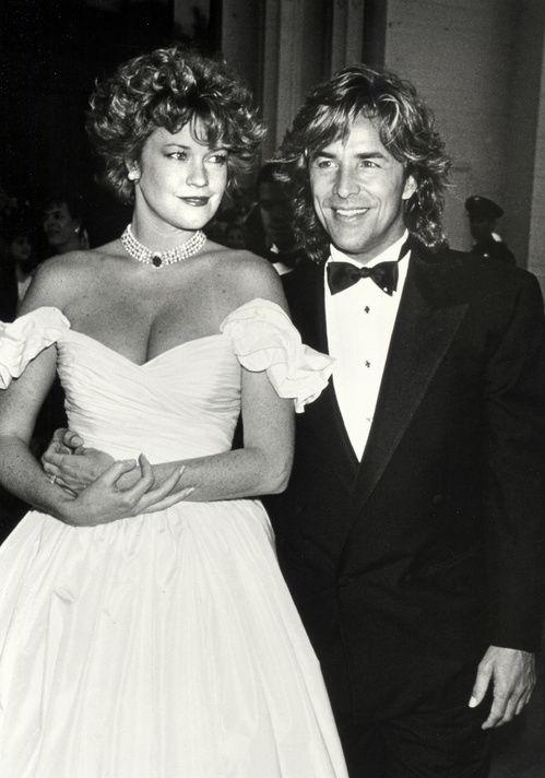 A dix-huit ans, Melanie Griffith épousait Don Johnson à Las Vegas en 1976