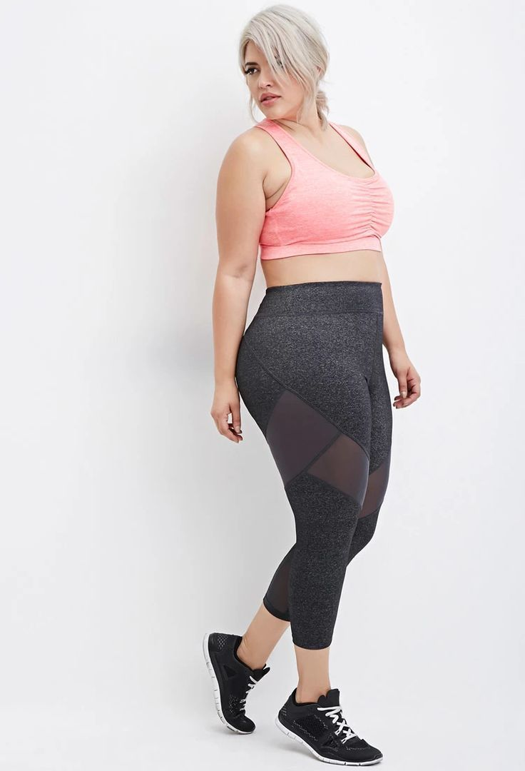 be0c7cf55 Forever 21 Makes Ashley Graham Your New Workout Buddy With Their New Plus-Size  Activewear Line