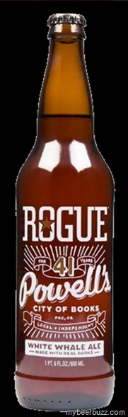 Rogue Releases White Whale Ale (Powells Books 41st Anniversary Ale)--Pages From Moby Dick In The Brew