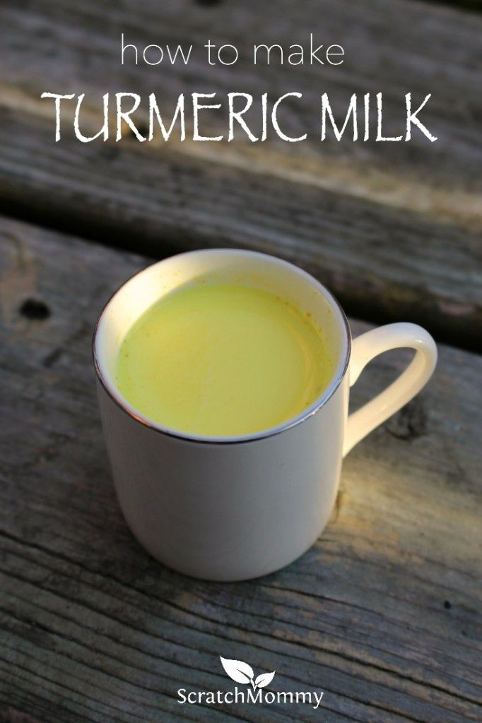 Turmeric milk has been used for ages to help combat flu, fevers, and colds -- especially gastrointestinal sicknesses. The recipe is simple to make and extremely comforting!