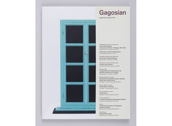 Shop - Gagosian Quarterly - September Issue - Gagosian Gallery