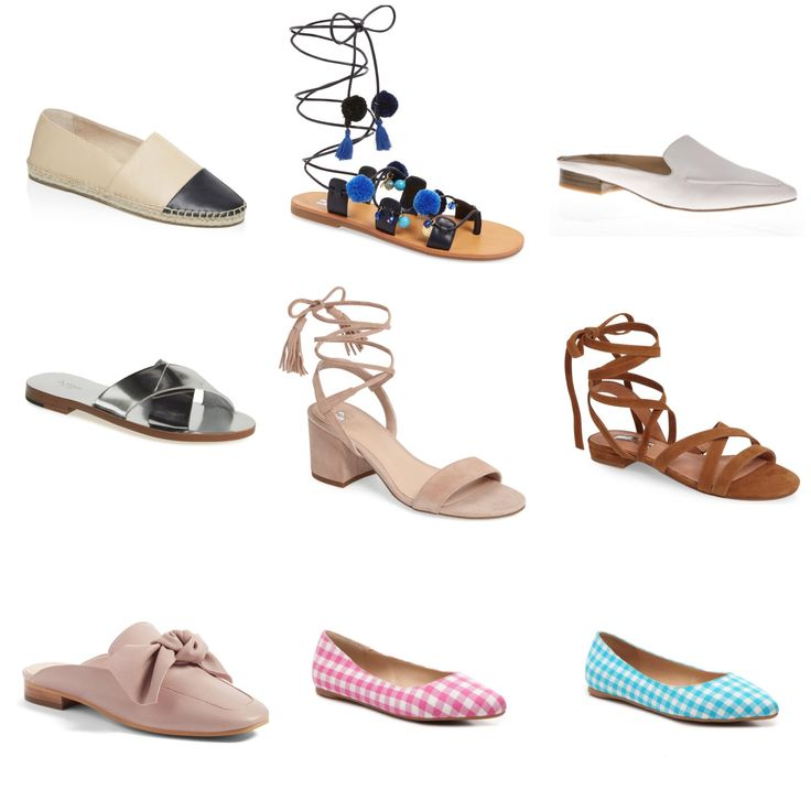 Pretty Tall Style - Tall WOmen's Fashion and DIY Blog - Everyday Spring Shoes in Larger Sizes