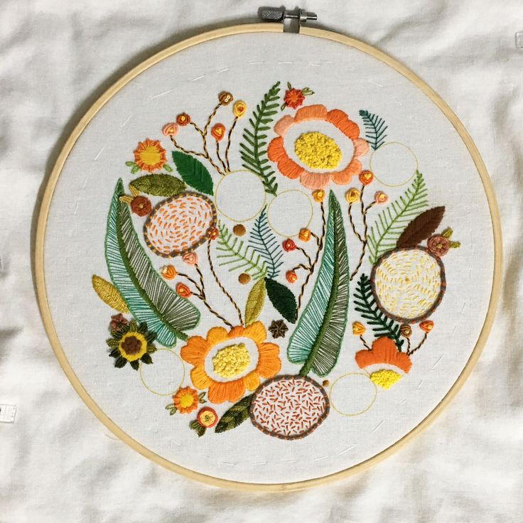 Floral Embroidery - Re Prazeres