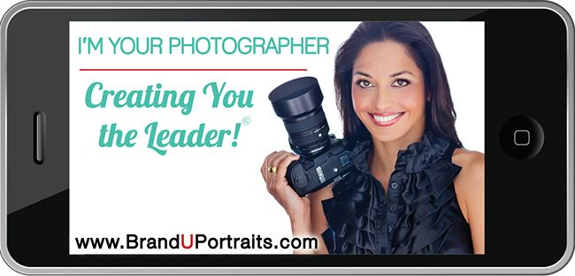 "I'm your photographer - creating you the leader!"" http://branduportraits.com/"