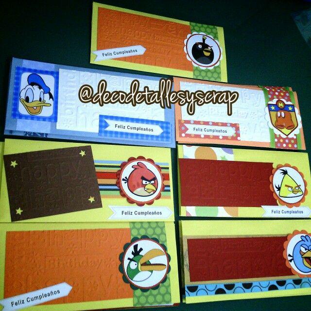 Envelopes for money gifts