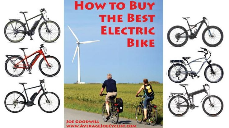 How to Buy the Best Electric Bike. We just published the updated, 3rd edition of How to Buy the Best Electric Bike. This edition is in collaboration with Turbo Bob and the EBR