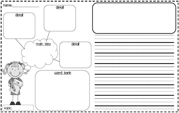 Girl and Boy Writing Graphic Organizer: Writing Paper, Boys Graphics, Ideas Details, Ideas Organizations, Writing Graphic Organizers, Maine Ideas, Writing Ideas, Writing Graphics Organizations, Ideas Writing
