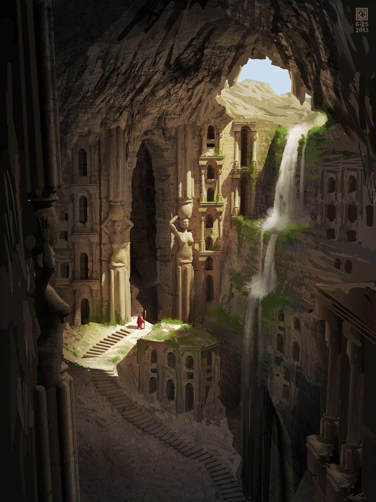 ArtStation - Solomon's Mines, Gediminas Einikis