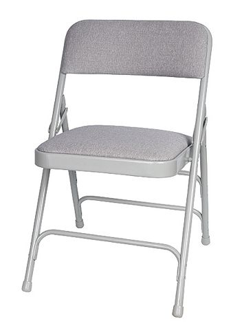 Free Shipping 76+ Chairs   Comfort Gray Metal Vinyl Padded Metal Folding  Chairs   Call Maria For Our Discount Specials 800 914 1969   Sale Price  $18.95 ...
