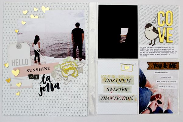 Hello Gossamer Blue lovelies! Vanessa here! I am so thrilled to have joined the Life Pages Design Team, and so excited to be here today to share a few layouts that I created using September's love...
