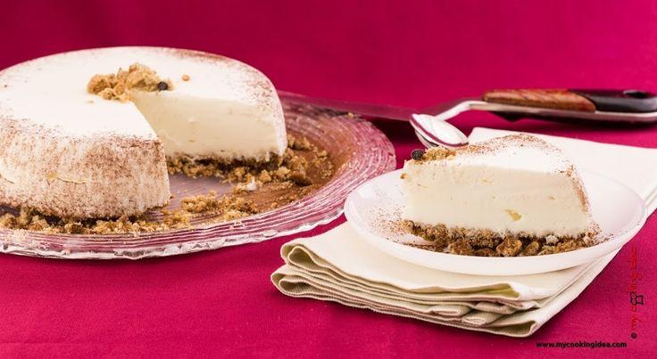 Cheesecake gelato. Una deliziosa torta gelato da fare in casa #Mycookingidea #cheesecake #gelato #dessert http://www.mycookingidea.com/2014/09/cheesecake-gelato/