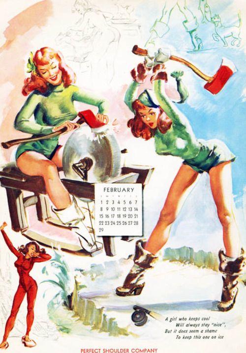 45 Best Vintage Calendars Images On Pinterest Calendar