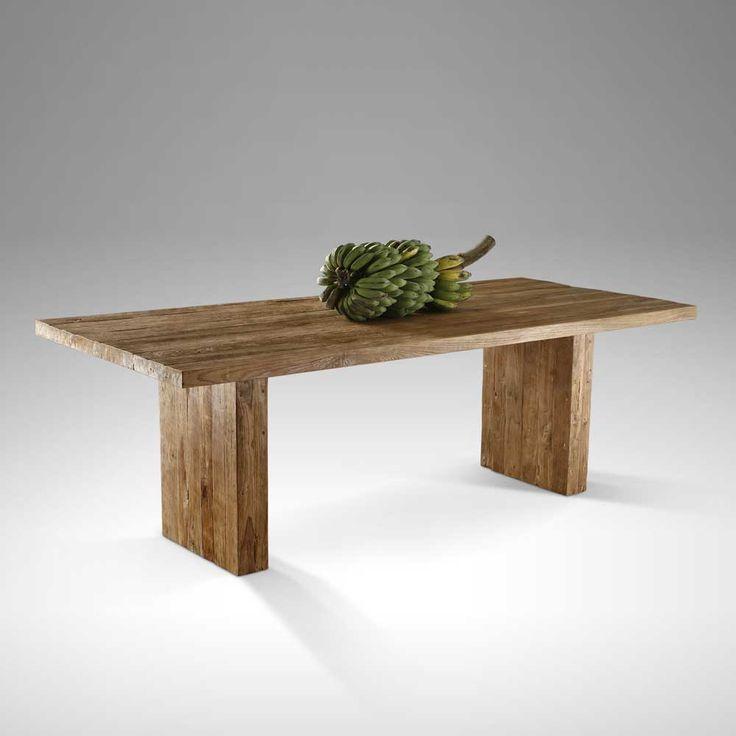 Esstisch Aus Teak Altholz Massiv Holztisch Gartentisch