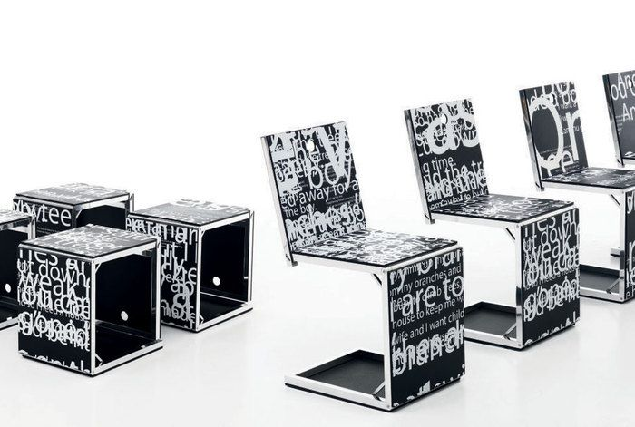 Pick Chair Stampa Digitale Limited Edition