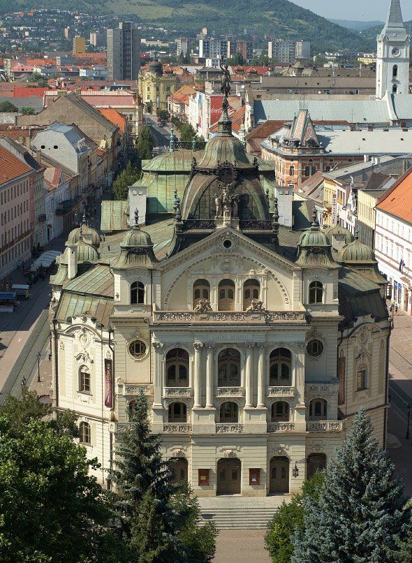State Theatre Košice (Štátne divadlo Košice). Košice 120