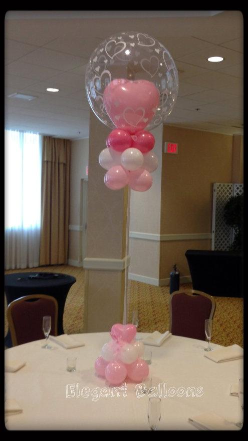 Deco bubbles are so elegant elegant balloons pinterest for Balloon decoration on wall