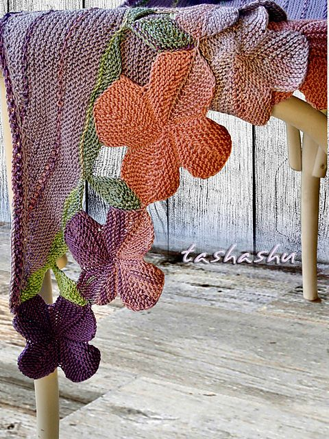 Ravelry: Provence Shawl pattern by Svetlana Gordon