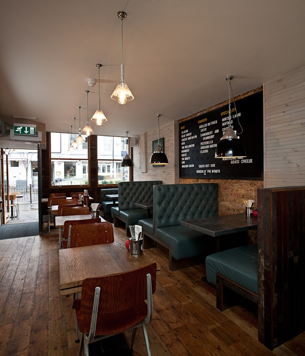 Gourmet Burger Kitchen , Battersea (London) | retail and