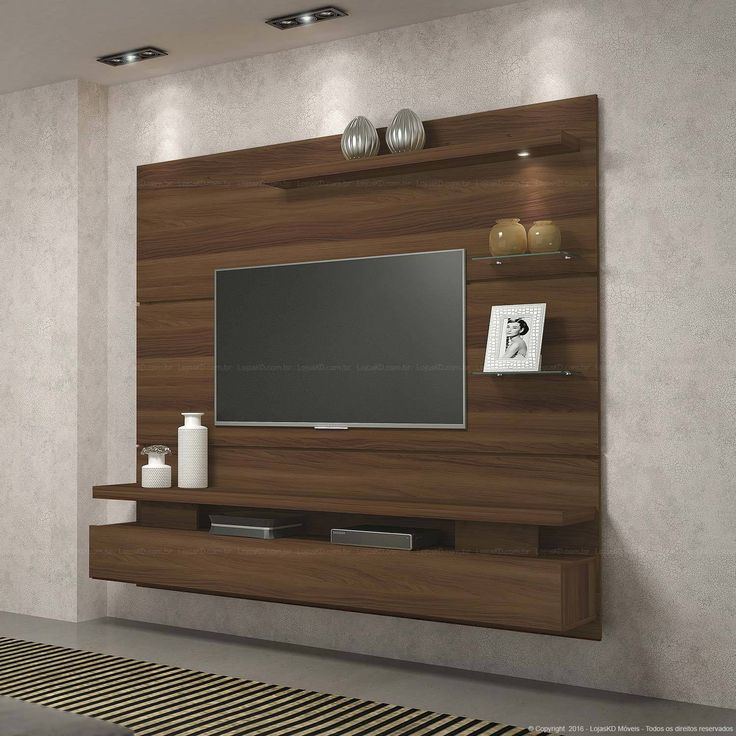 512,24 - Home Suspenso para TV até 42 Polegadas 1 Porta Basculante com Luminária Led Greco Madero - DJ Móveis | Lojas KD