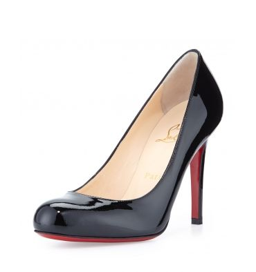 Christian Louboutin Simple Patent Red Sole Pump - StoreTip