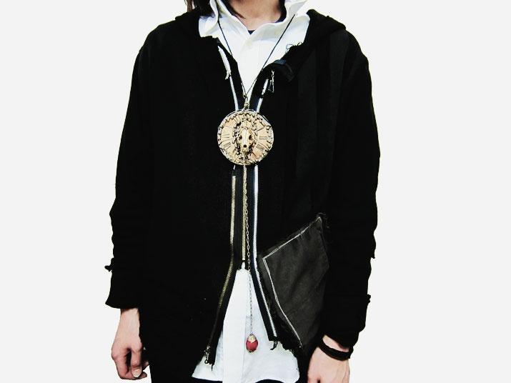 Gothic Rock Necklace  Artist Jewelry  http://heavenscafe.net/?mode=grp=176750