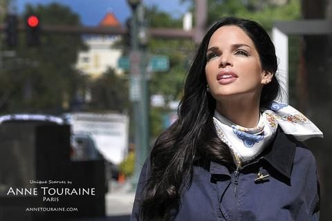 NAUTICAL SCARVES: A SPRING STAPLE | ANNE TOURAINE Paris™