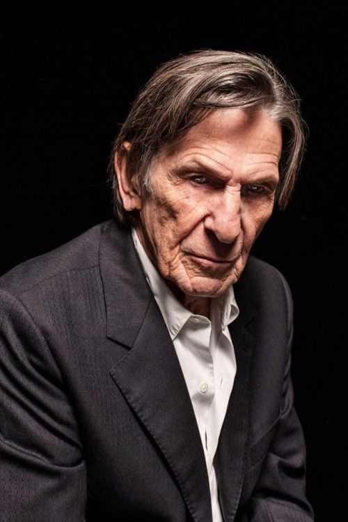 RIP Leonard Nimoy. He lived long and prospered. I am absolutely entranced with this photo. The face...everything...the eyes...so intense and intriguing. I miss his voice and his smile. Thank you for the years of endless entertainment sir.