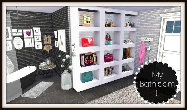 Sims 4 - Bathroom II