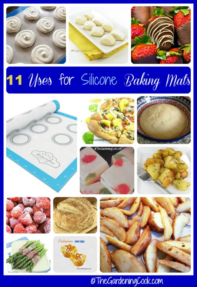 11 uses for silicone baking mats thegardeningcook.com/11-uses-for-silicone-baking-mats