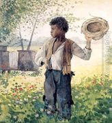 The Busy Bee  by Winslow Homer