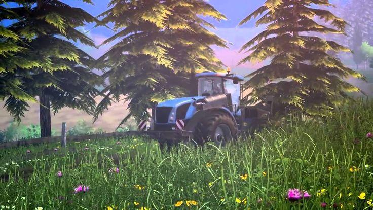 FARMING SIMULATOR 15 FIRST VIDEO!!