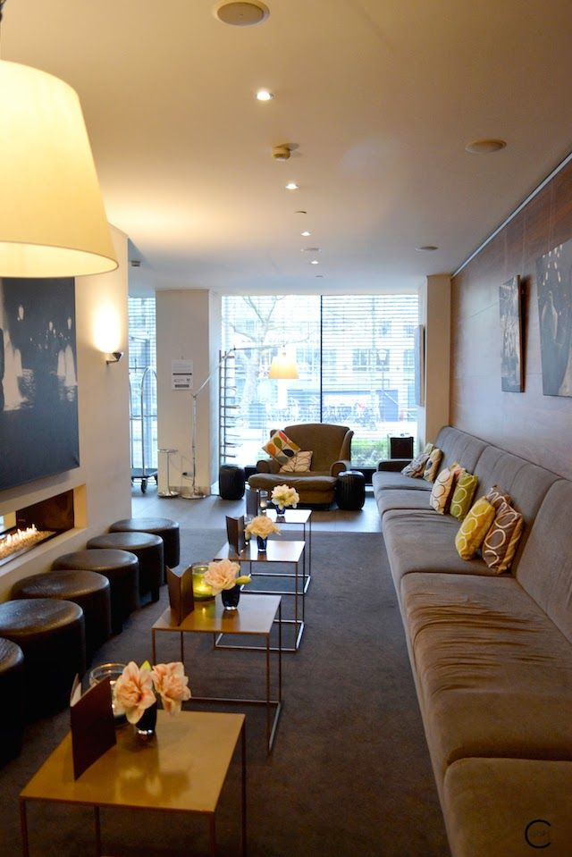 Park Hotel Amsterdam | Design | Luxury | Interior | Egg Chair | by C-More interior blog