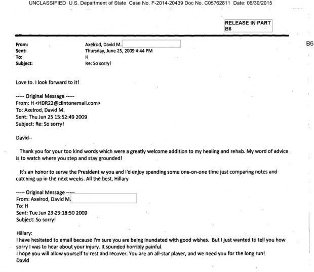 New Batch of Hillary Clinton Emails Seem to Disprove Key David Axelrod Claim - http://www.theblaze.com/stories/2015/06/30/new-batch-of-hillary-clinton-emails-seem-to-disprove-key-david-axelrod-claim/?utm_source=TheBlaze.com&utm_medium=rss&utm_campaign=story&utm_content=new-batch-of-hillary-clinton-emails-seem-to-disprove-key-david-axelrod-claim