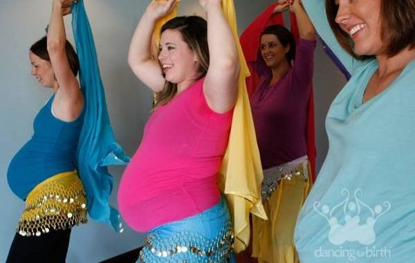 Танцы для беременных - Dancing for birth