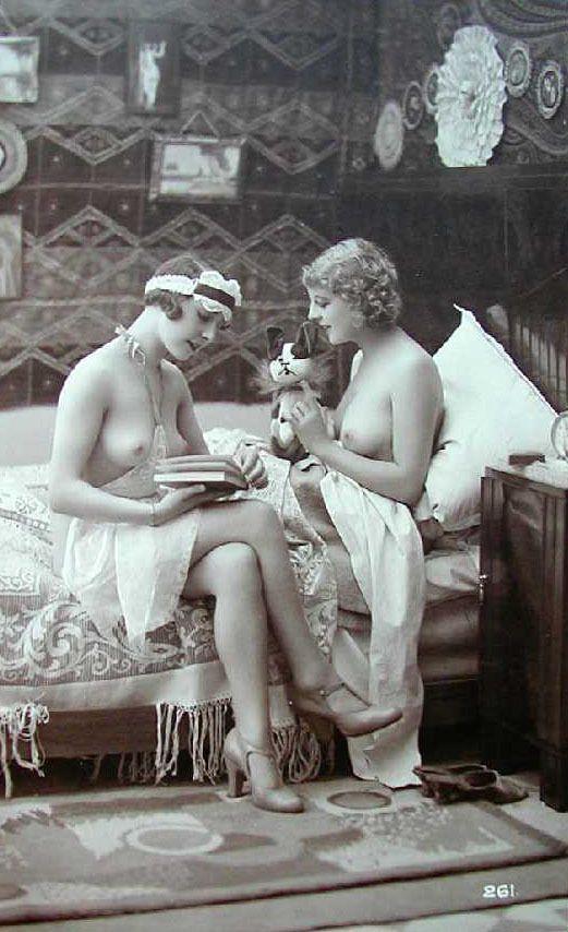 1920S Erotica   Старинной Фотографии - Erotica 1920S -3549