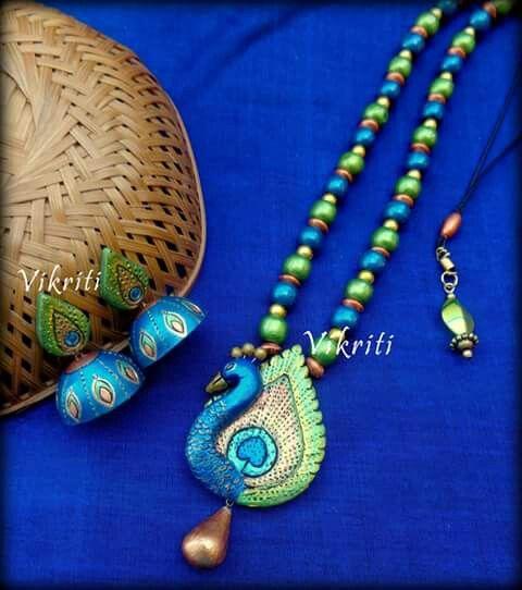 Terracotta Jewelry Set