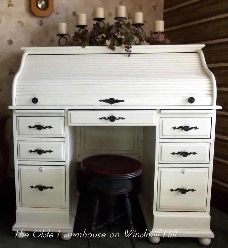 The Olde Farmhouse On Windmill Hill Desk Makeover How To