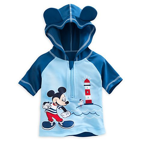 Mickey Mouse Rash Guard for Baby