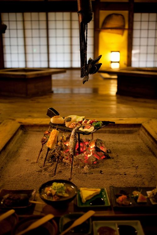 Irori #interior #japan