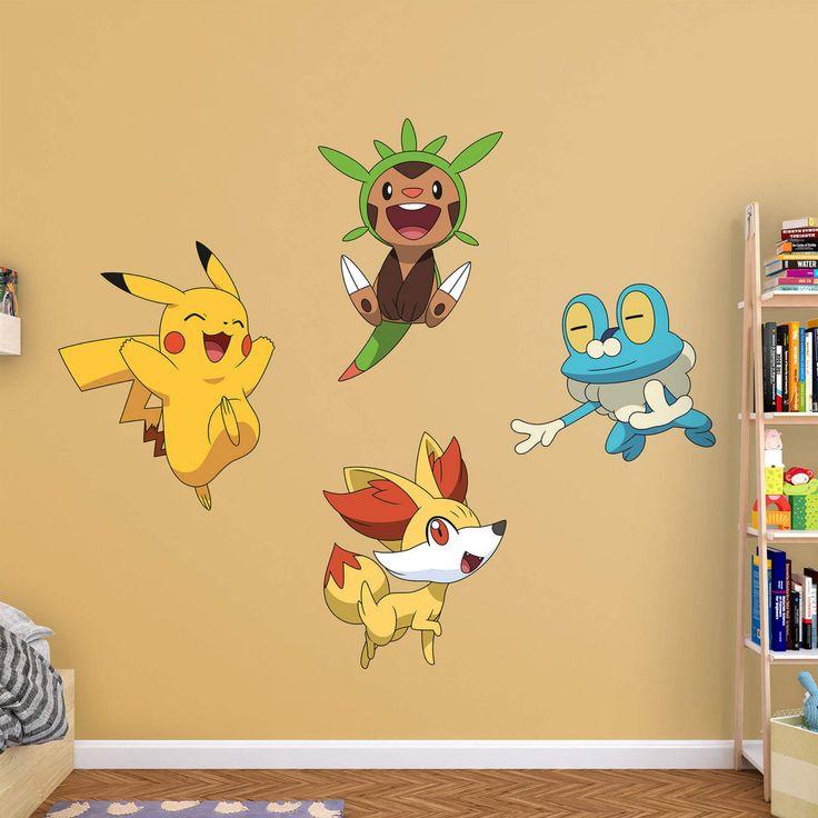 Fathead Pokemon Kalos First Partner Wall Decal Collection - 1130-00011