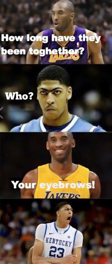 Ok...I'm not a Kobe fan, but this is funny (You know I love ya uni-brow)!