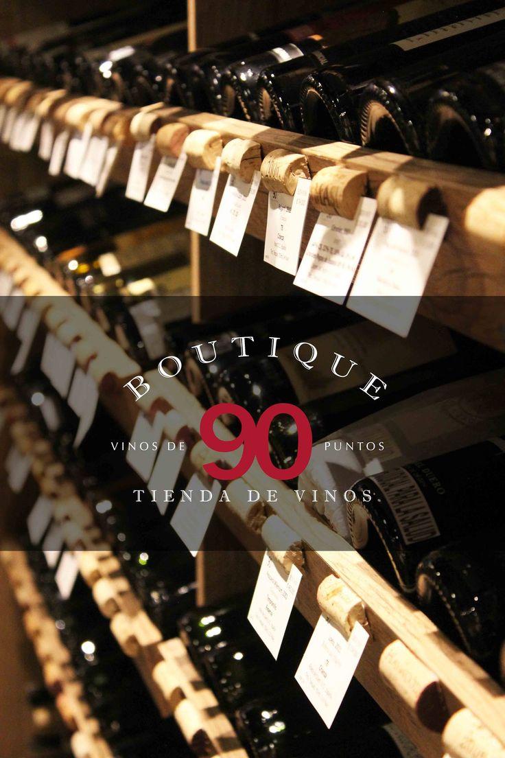 Te esperamos en Boutique 90, una tienda de vinos al interior del Restaurante Daniel! Contamos con una de la más grandes selecciones de vinos en Bogotá www./daniel.com.co/boutique90